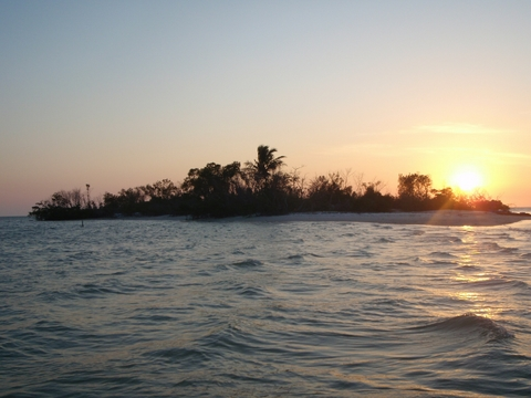 Sunset at Palm Key, by Mormon Key