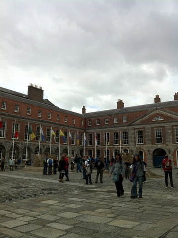 Dublin Castle courtyard