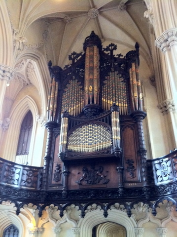 Chapel Royal magnificient organ