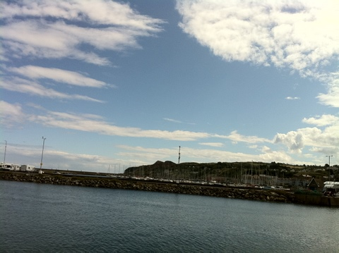 The port of Howth