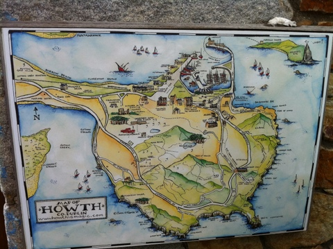 Map of Howth