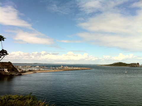 The fantastic seaside town of Howth