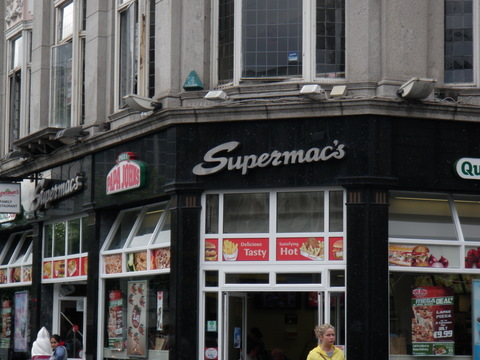 Supermac one of the fastest fast food chains