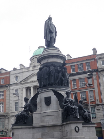 Connel monument in Dublin