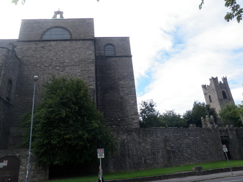 Medieval walls, St Audoen's Church