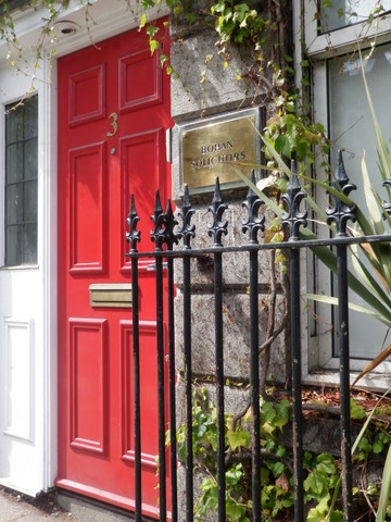 Red door, Bohan solicitors