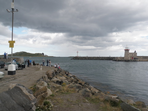 The lighthouse in Howth
