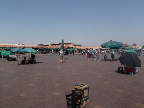You can not visit Marrakech without a visit in this plaza