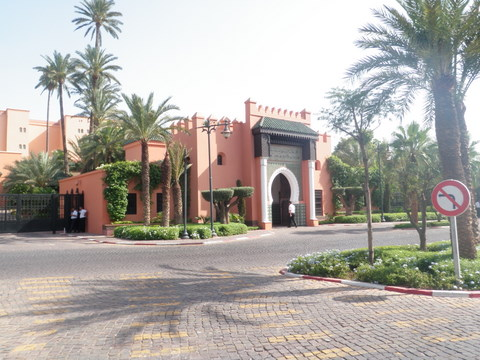 The hotel la Mamounia one of the most expansives in the country