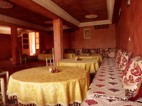 The dinning room at Chez Brahim Bolkaid