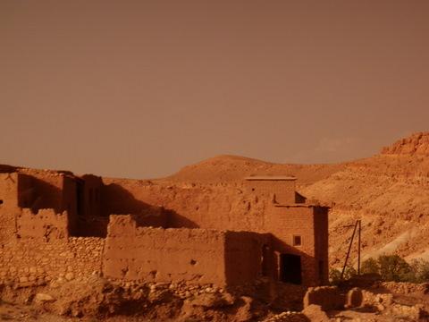 Kasbah north of Ait Ben Haddou