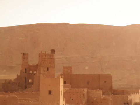 Another kasbah on the caravan road near Ait benhaddou