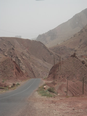 Great scenery leads to the Dades Gorges