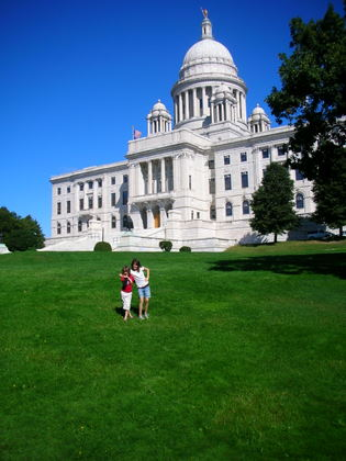 Picture of the Capitol in Providence