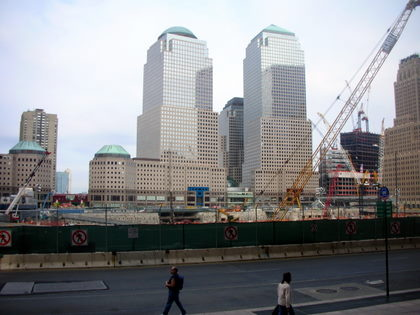Overview of the rebuilding of the World trade Center
