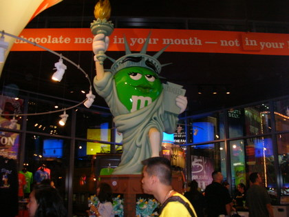 M&M's World in New-York