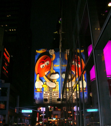 M&M's in Time Square