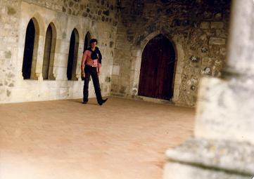 Myself in the Castle of Leiria