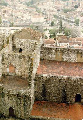 View from the Leiria Castle