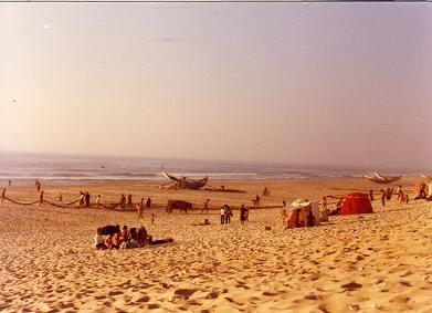 Beach at Mira...in the old days