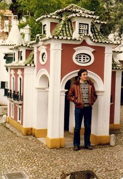 My cousin Reinaldo, Portugal dos Pequenitos, Coimbra