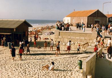 Looking north, Praia de Mira