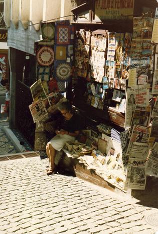 Newsstand in Coimbra