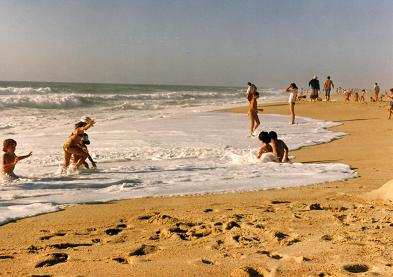 Praia de mIra one of the great beaches of Portugal