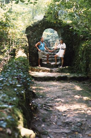 Fernando and Lidia Costa in Bussaco, a nice moment