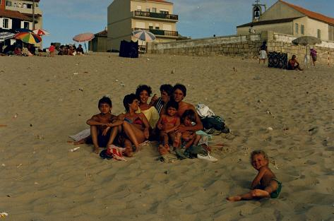 Myself with some friends in Mira (Praia de Mira)