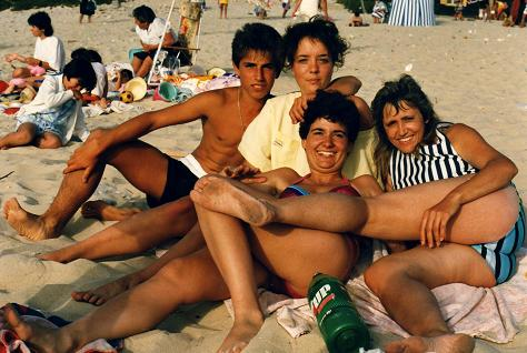 My cousin Mario Espada, France Tranquille, Isabel Pessoa-Cruz and my beloved sister Lidia...now deceased