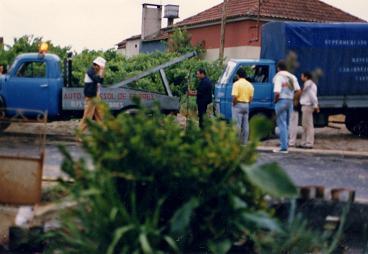 Dangerous corner in Serredade<