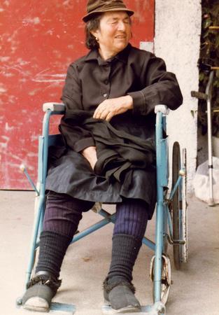 Grandma Santos in 1979