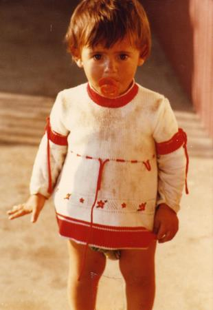 My little cousin Gina Manata in 1979