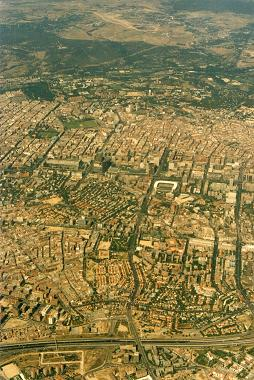 <br>Madrid from the air