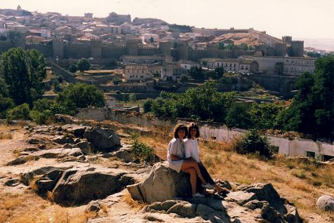 Johanne and France Tranquille in Avila