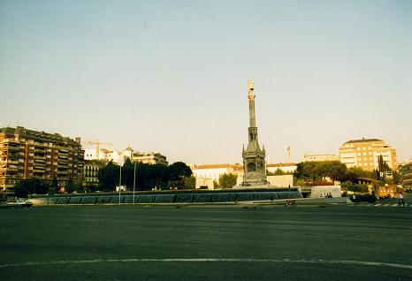Another view of  La Plaza de Colon, Madrid