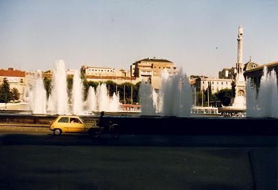 La Plaza de Colon, Madrid