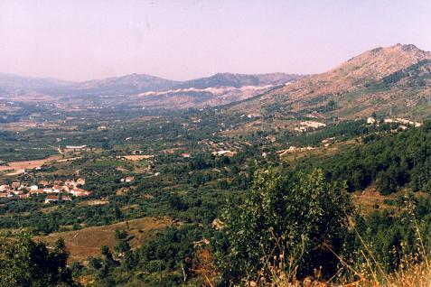 Hills of Eastern Spain