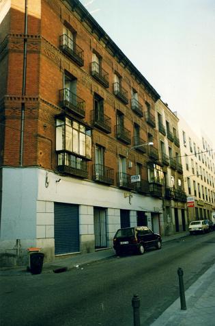 Hotel where we stayed in Madrid near Plaza de Colon