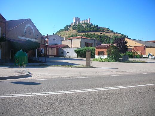 Castle in Penafiel