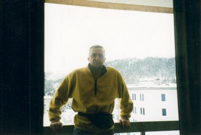 In the Youth Hostel in St Moritz