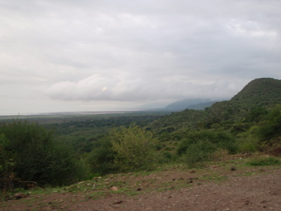 Two pictures of the Rift Valley