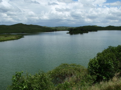 One of the Momella Lakes in Arusha National Park