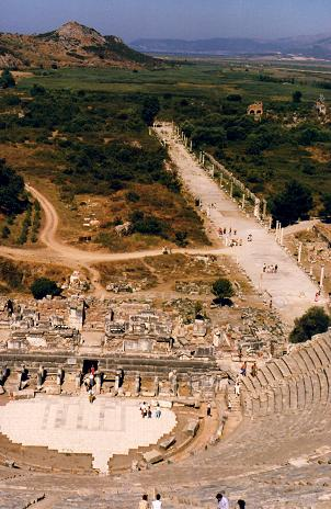 The great ancient city of Ephesus