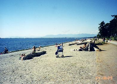 Beach of White Rock, BC