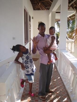 Deborah, Baby Ariela and Geoffrey
