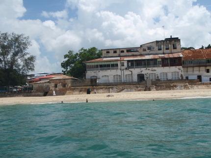 Stone Town shore