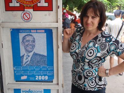 Obama is popular in Tanzania