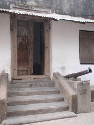 Typical door, Stone Town